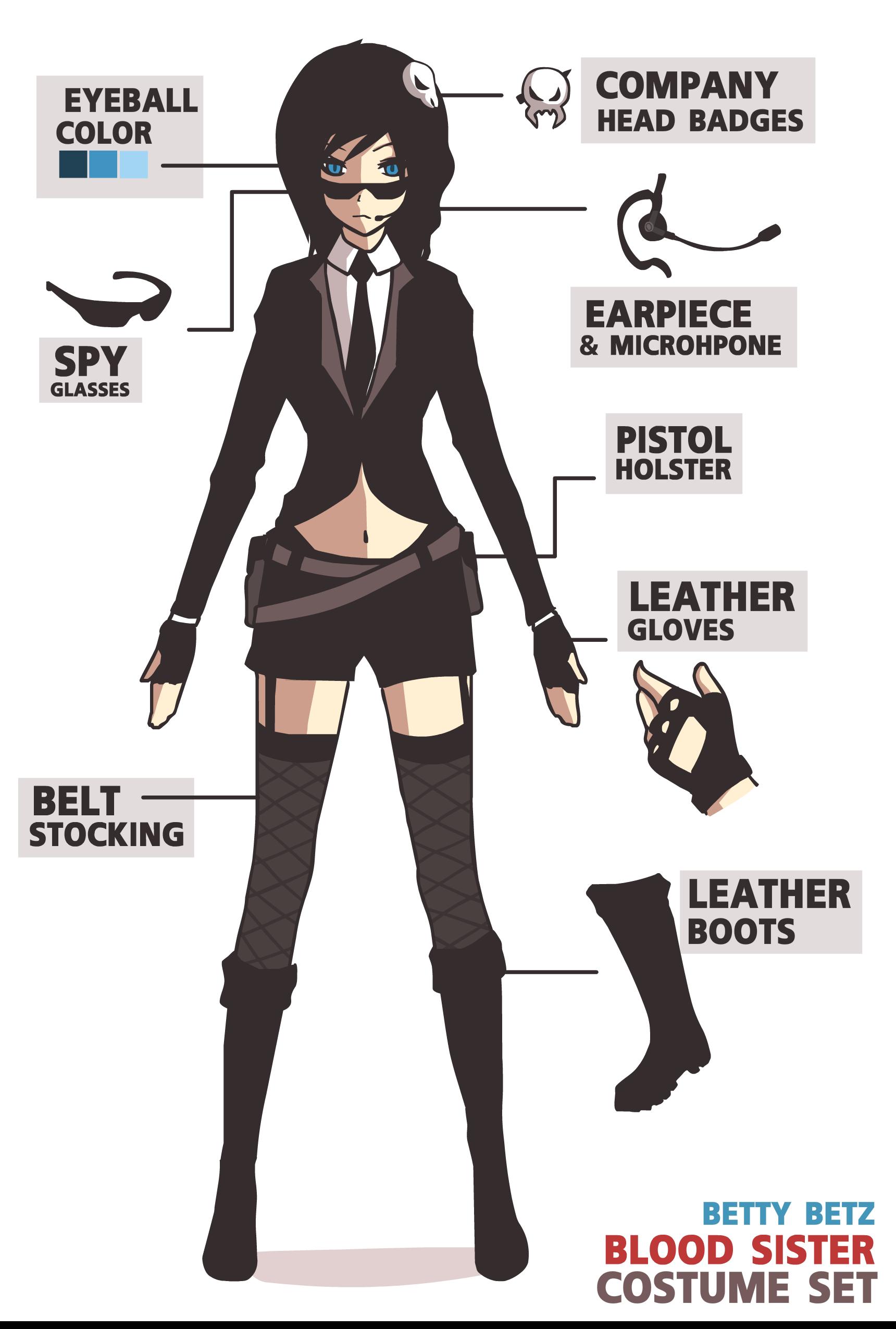 Blood sister costume