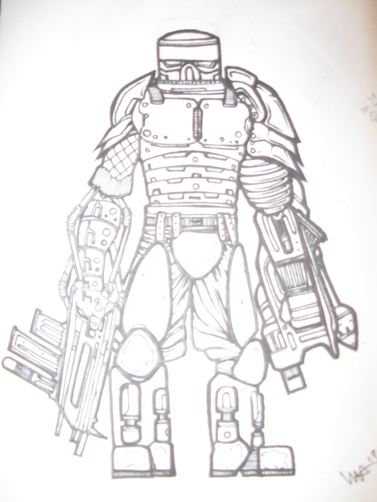 frontal assault soldier
