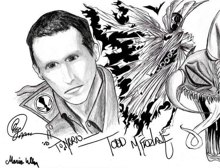 Todd Macfarlane Autographed
