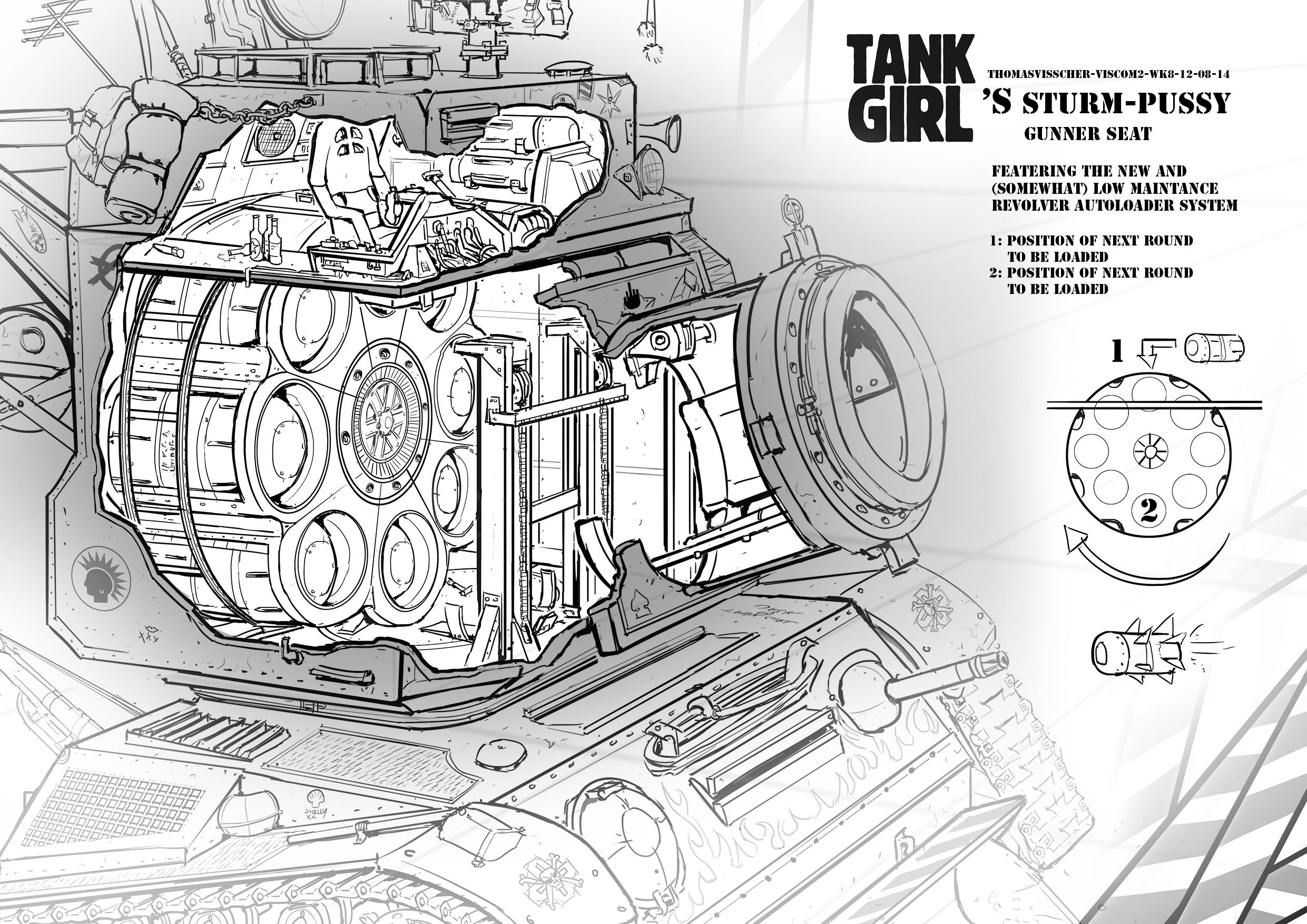 Sturmpussy- gunner seat