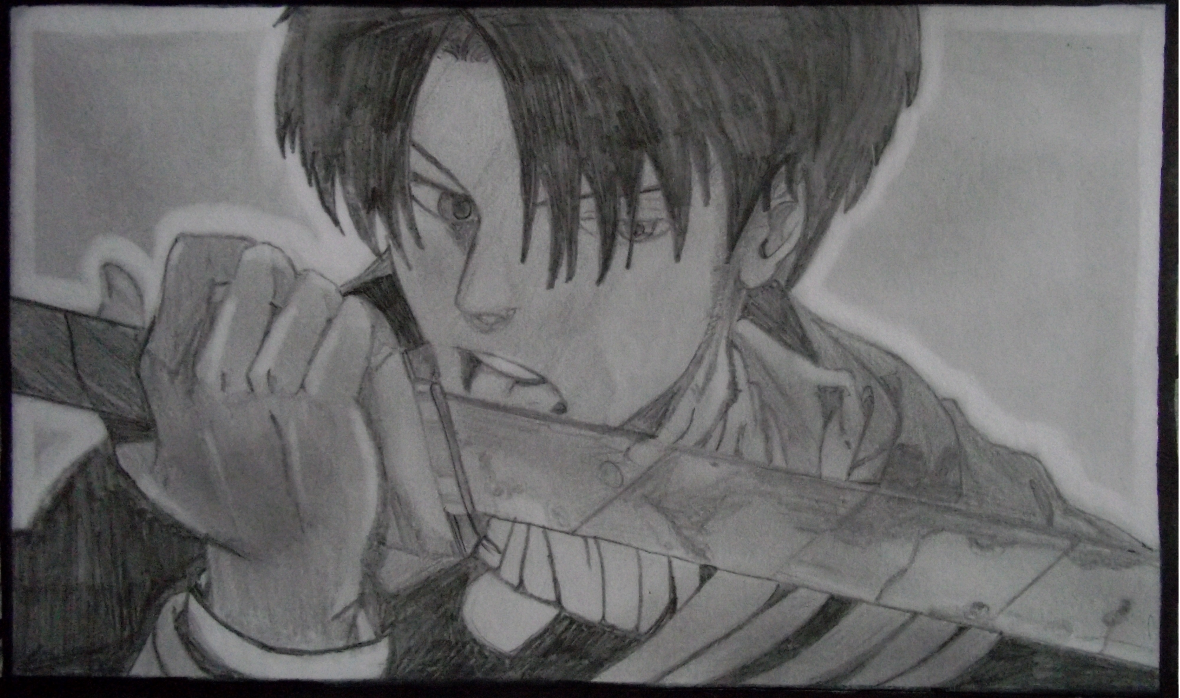Old Levi pencil drawing