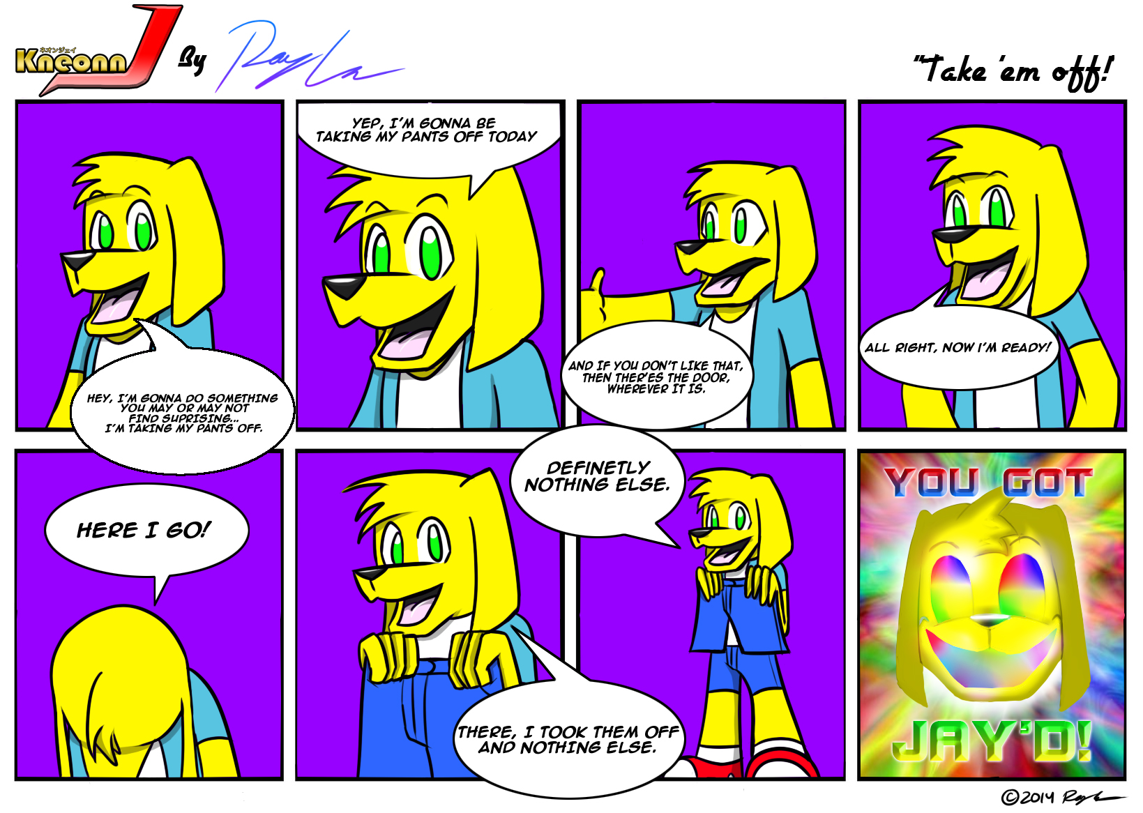 Kneonn J: The Comic #2