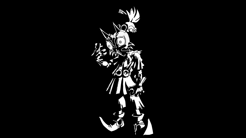 Skull Kid | Black n´ White