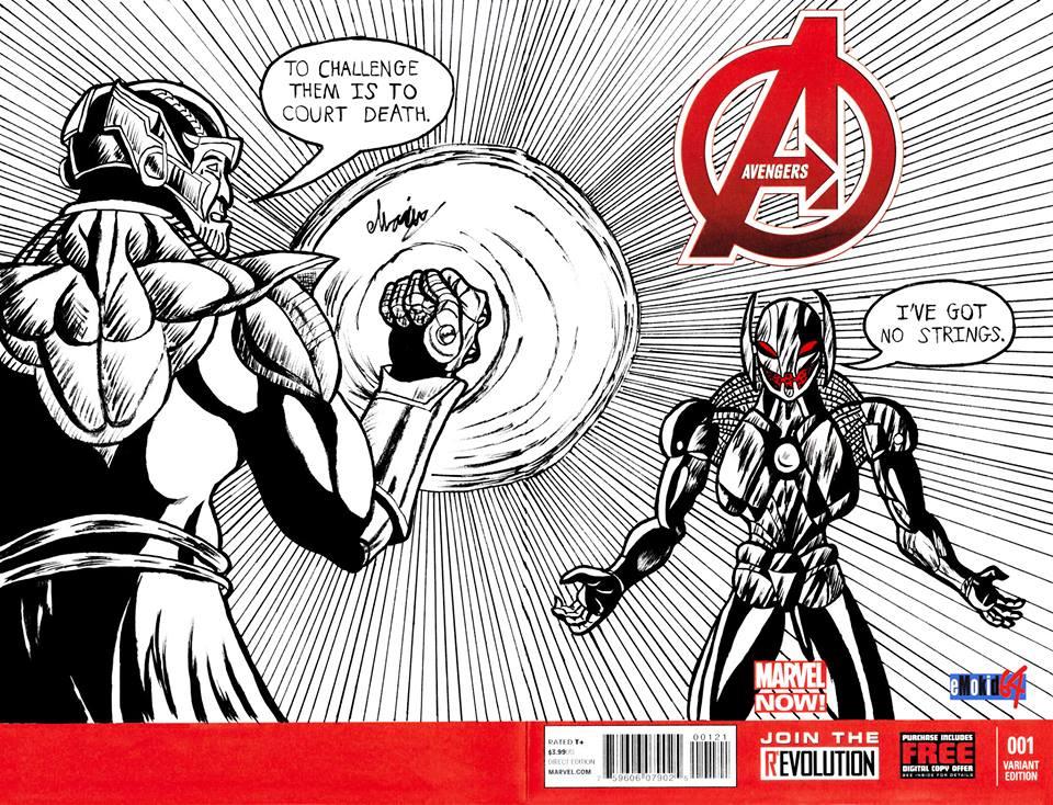 Avenger Blank issue #1