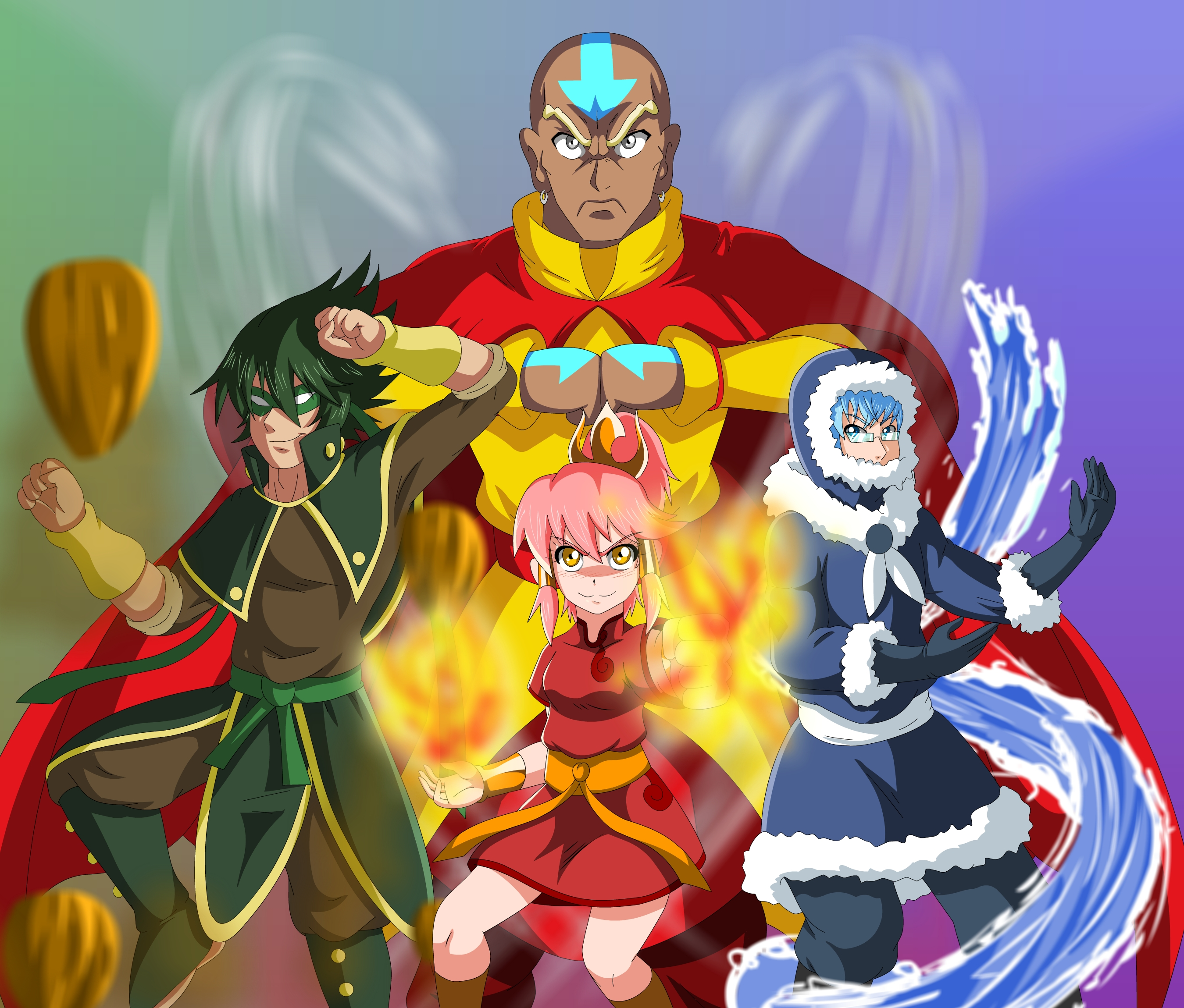Elite Four Elements