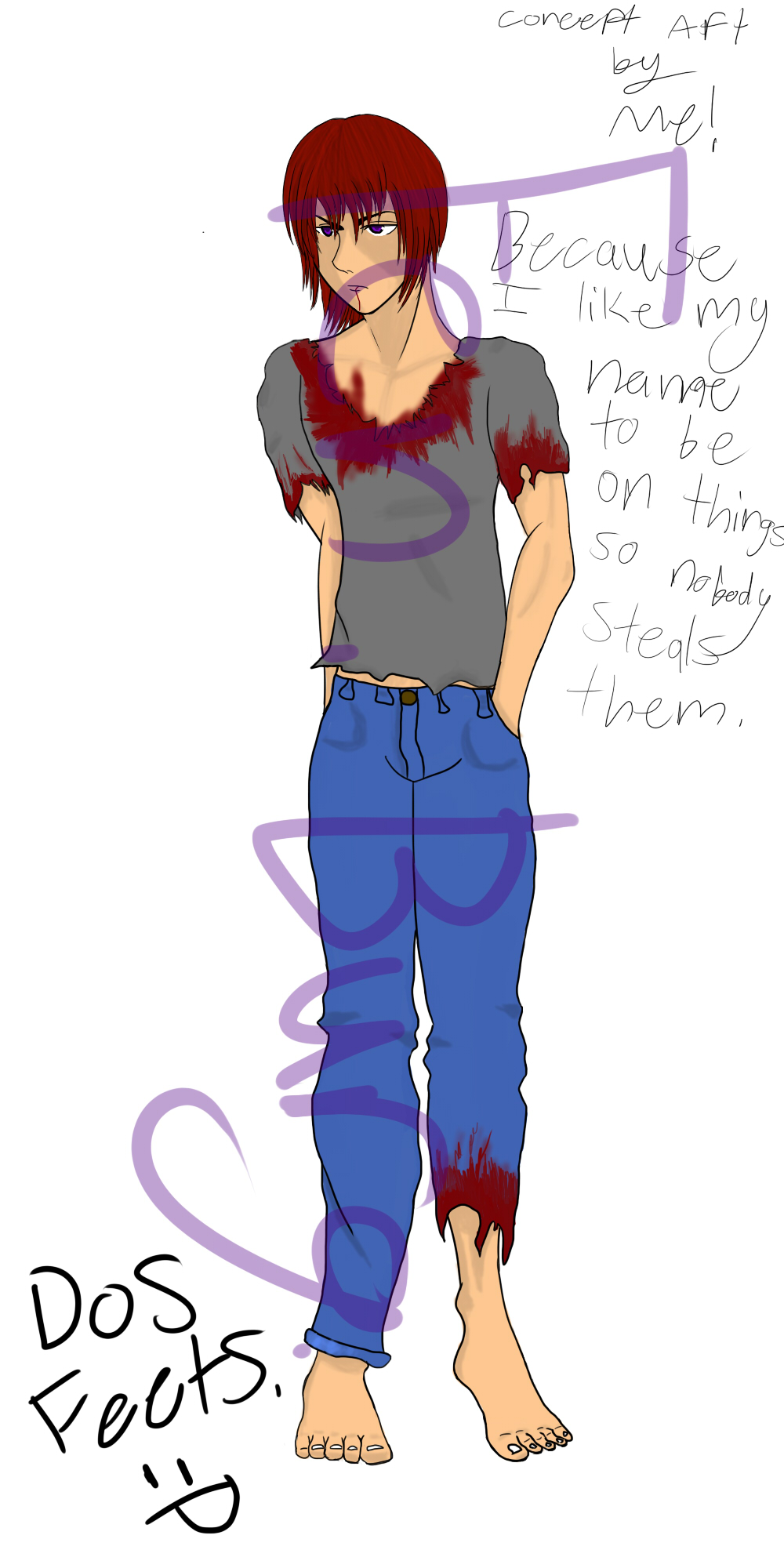 Character Concept Art #1
