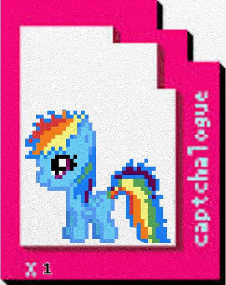 Captchlog Card With Pony