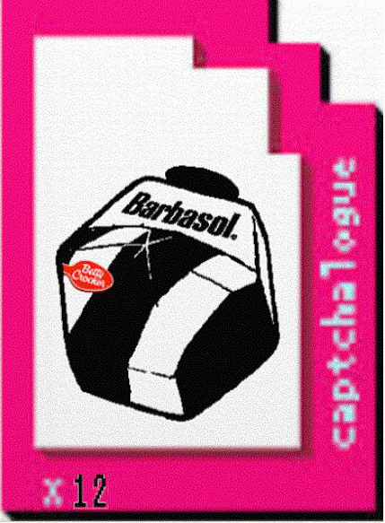 Captchlog Card With Barbsol