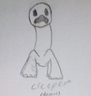 Creeper Sketch(REAL)