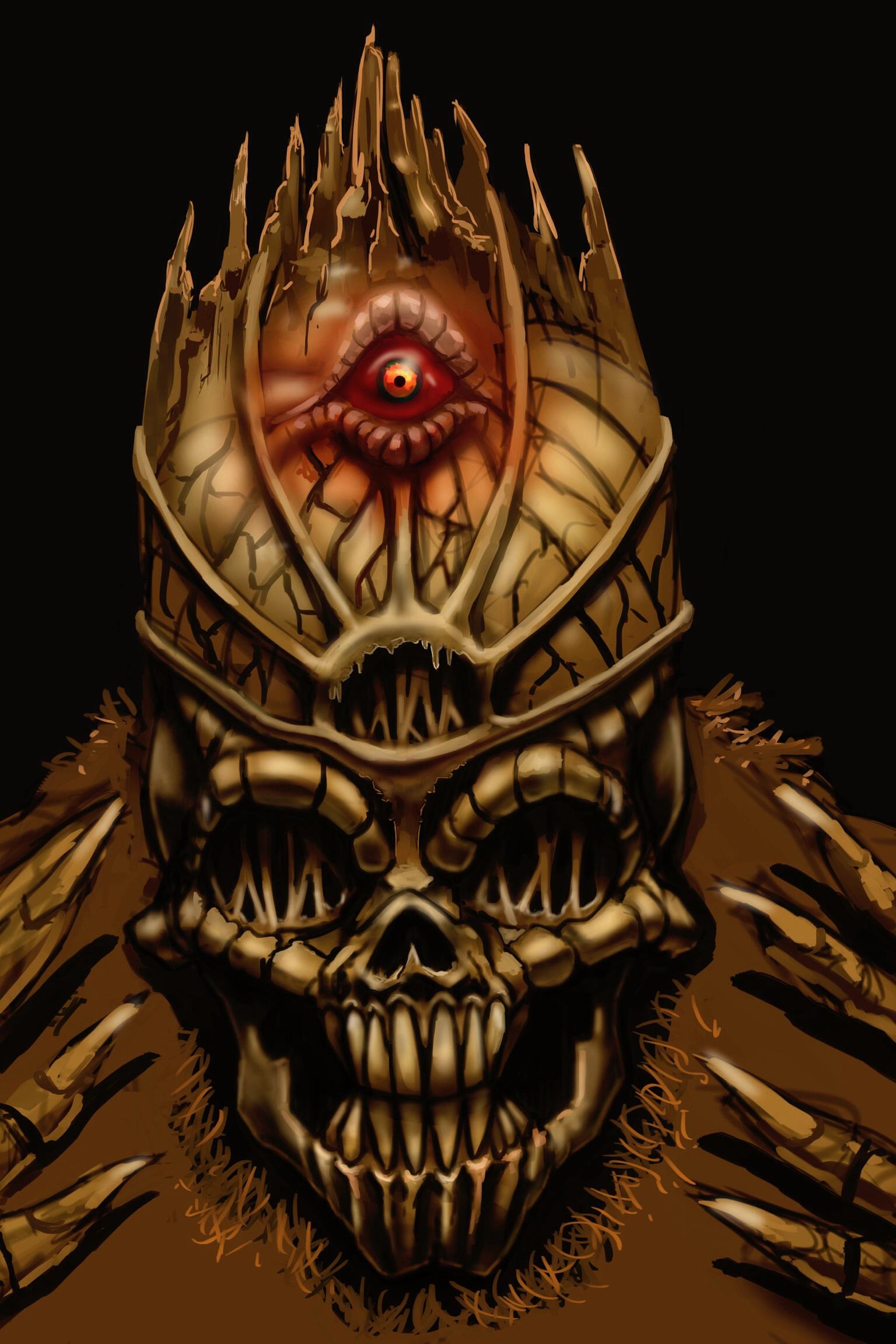 Teras Skull cover