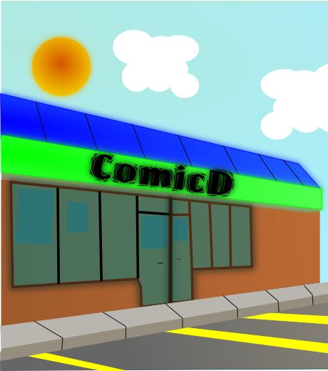 Comic Store Outside Idea