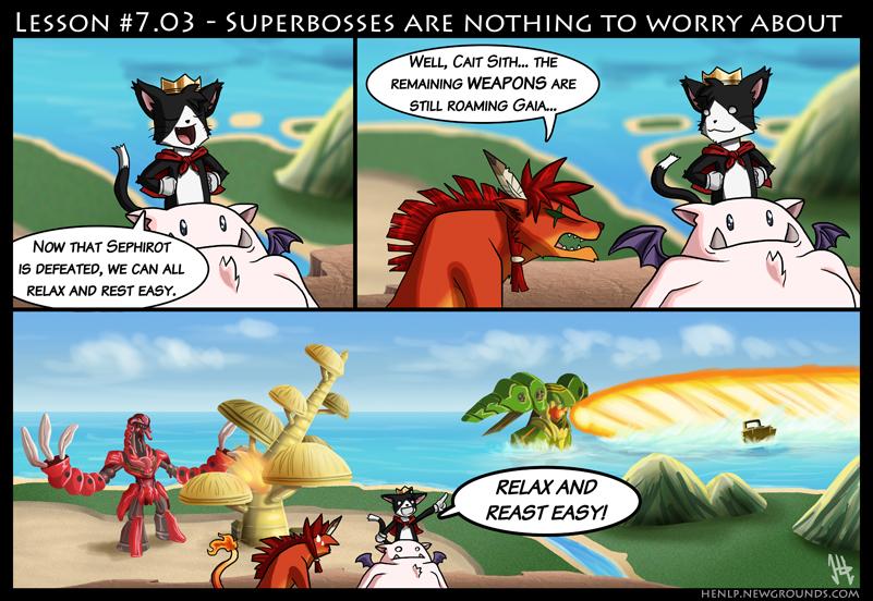 Final Fantasy Lesson #7.03