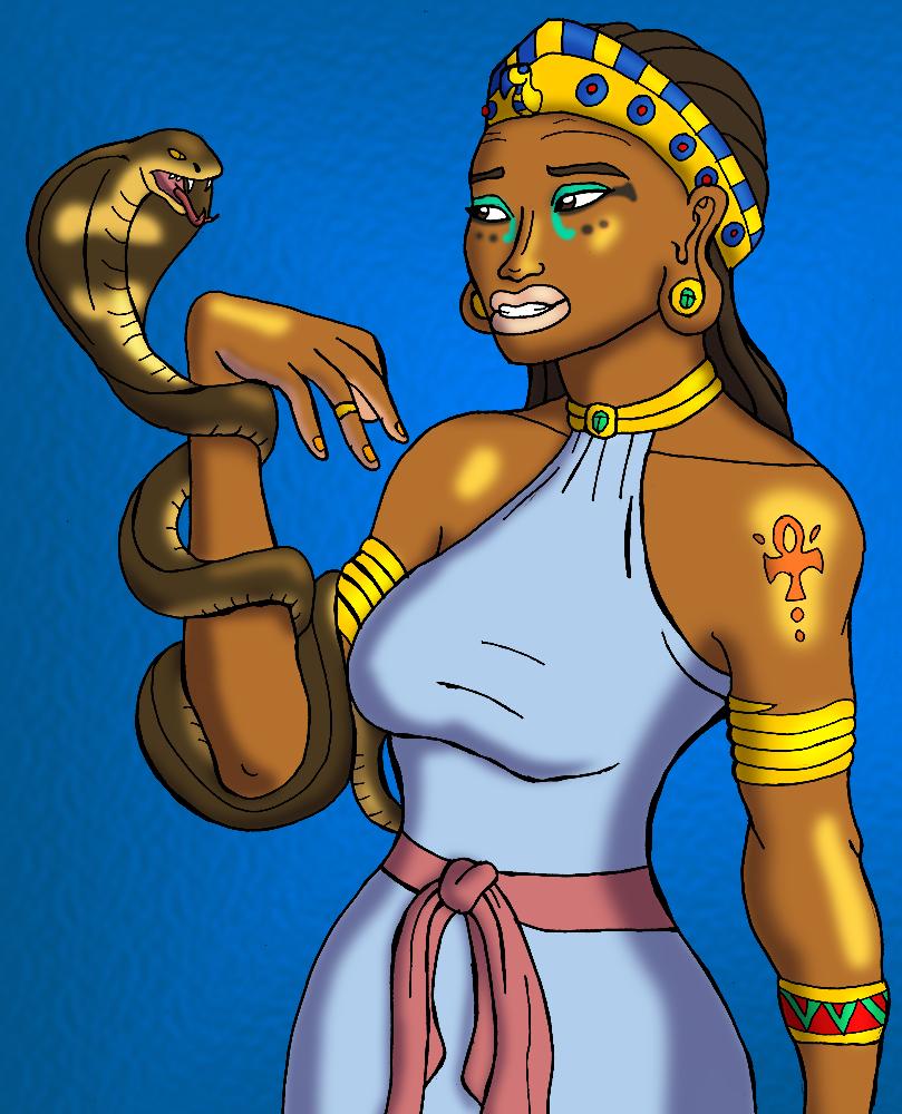 Cleopatra's Contemplation