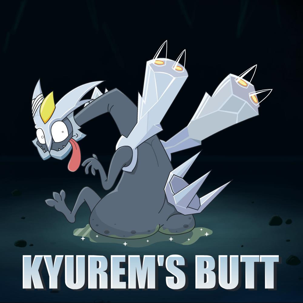 Kyurem's butt