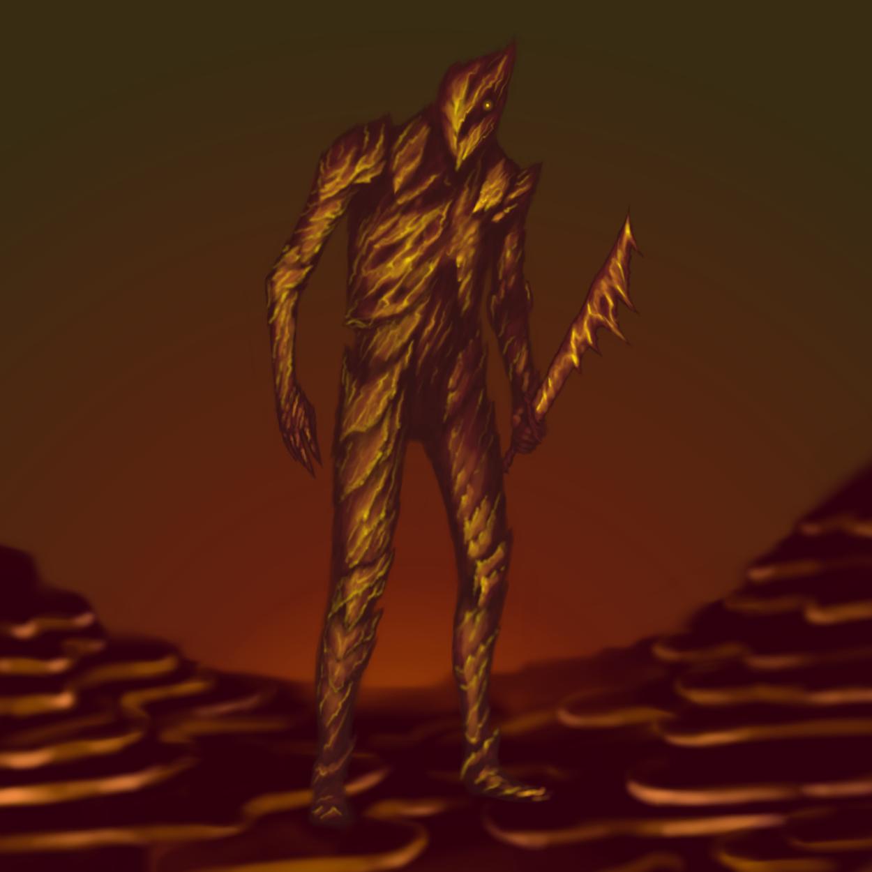 Lava Knight!