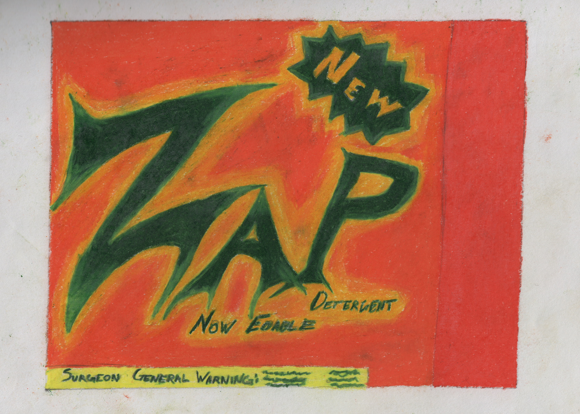 Zap! Bleach: Now edible