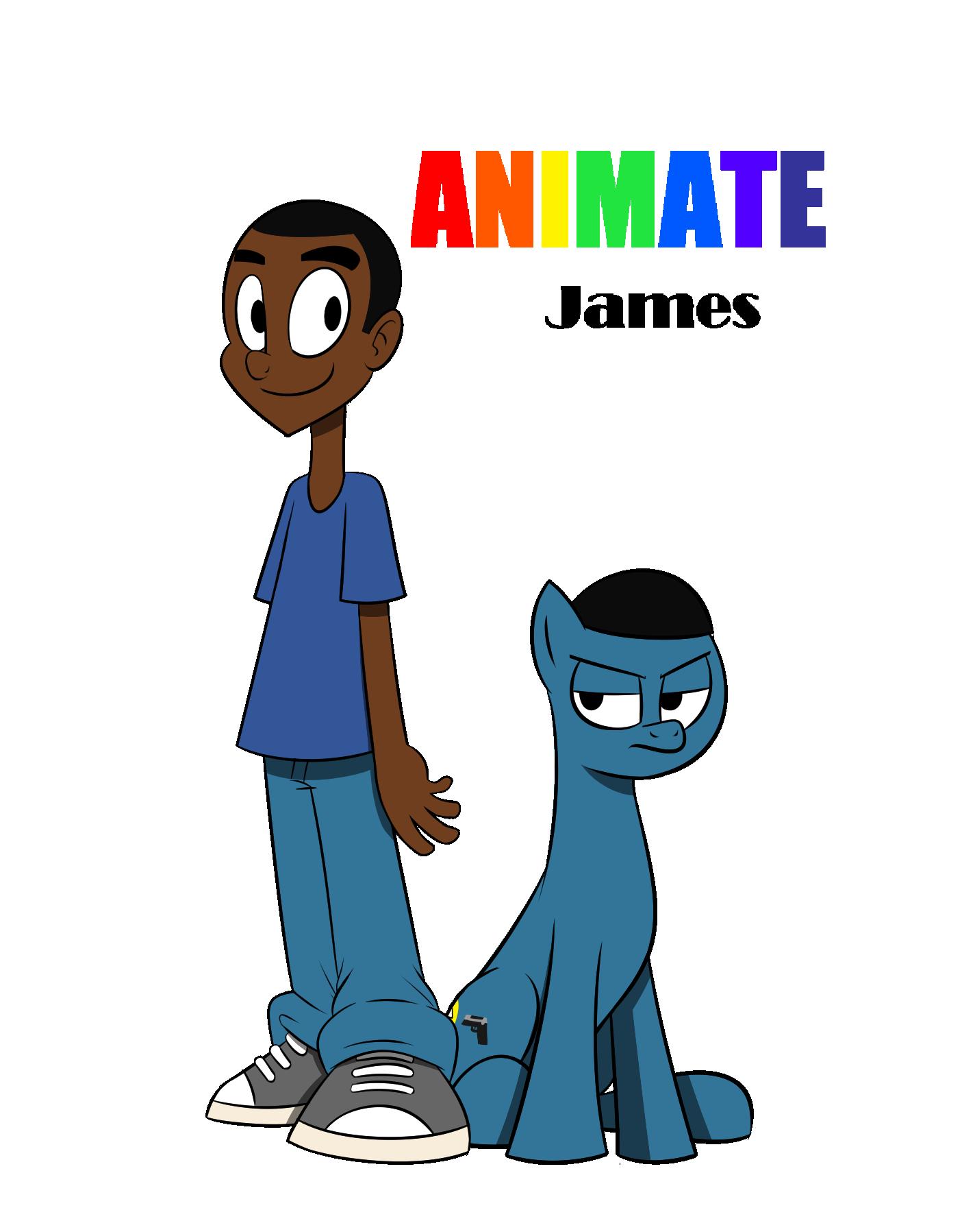 AnimatedJames Fan Art