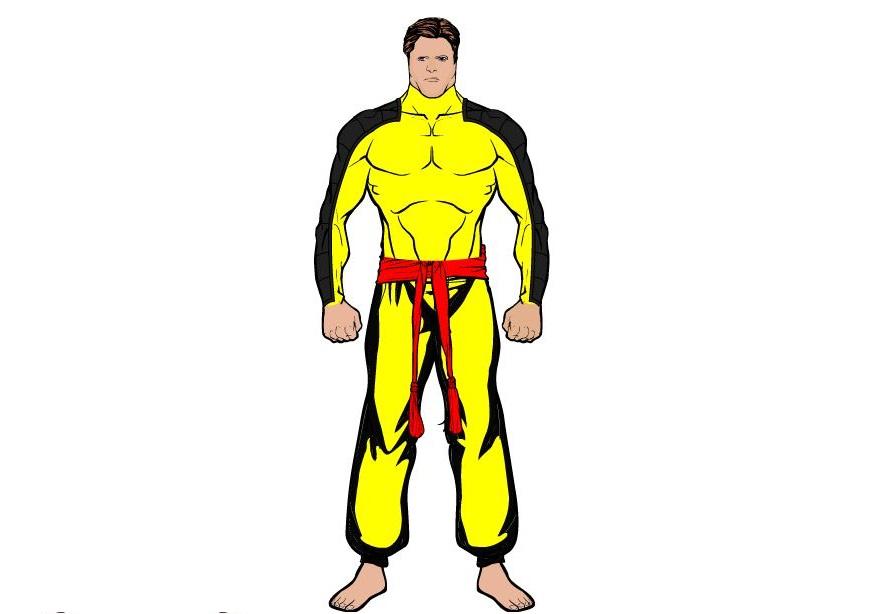custom superhero