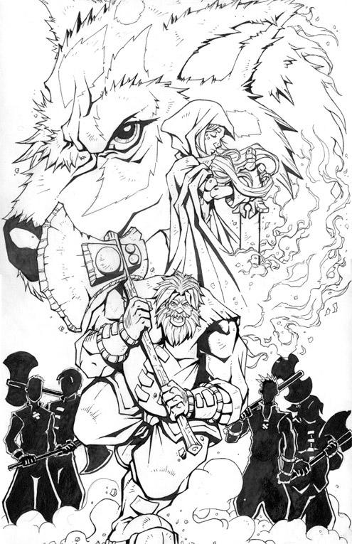 Battle For Ozellberg #1 Cover