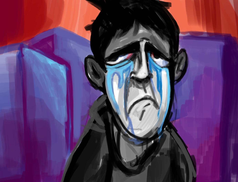Me sad