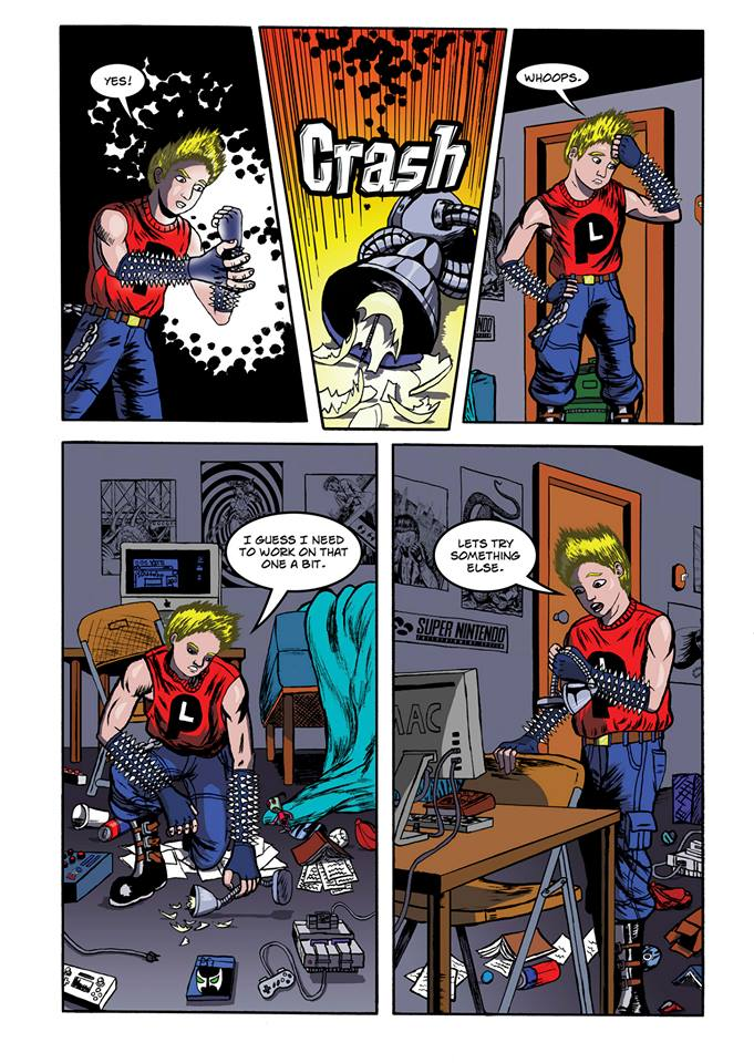 Summoning Disaster page 3