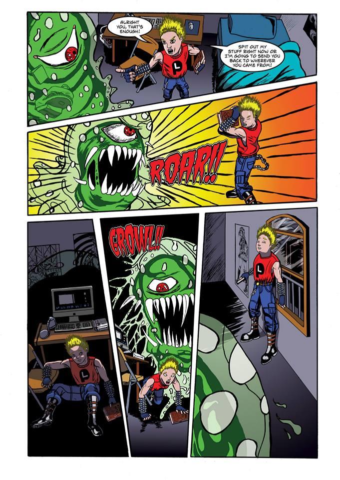 Summoning Disaster page 9