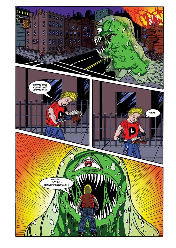 Summoning Disaster page 11