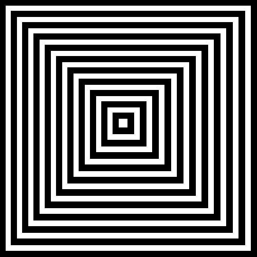 Inverted Squares
