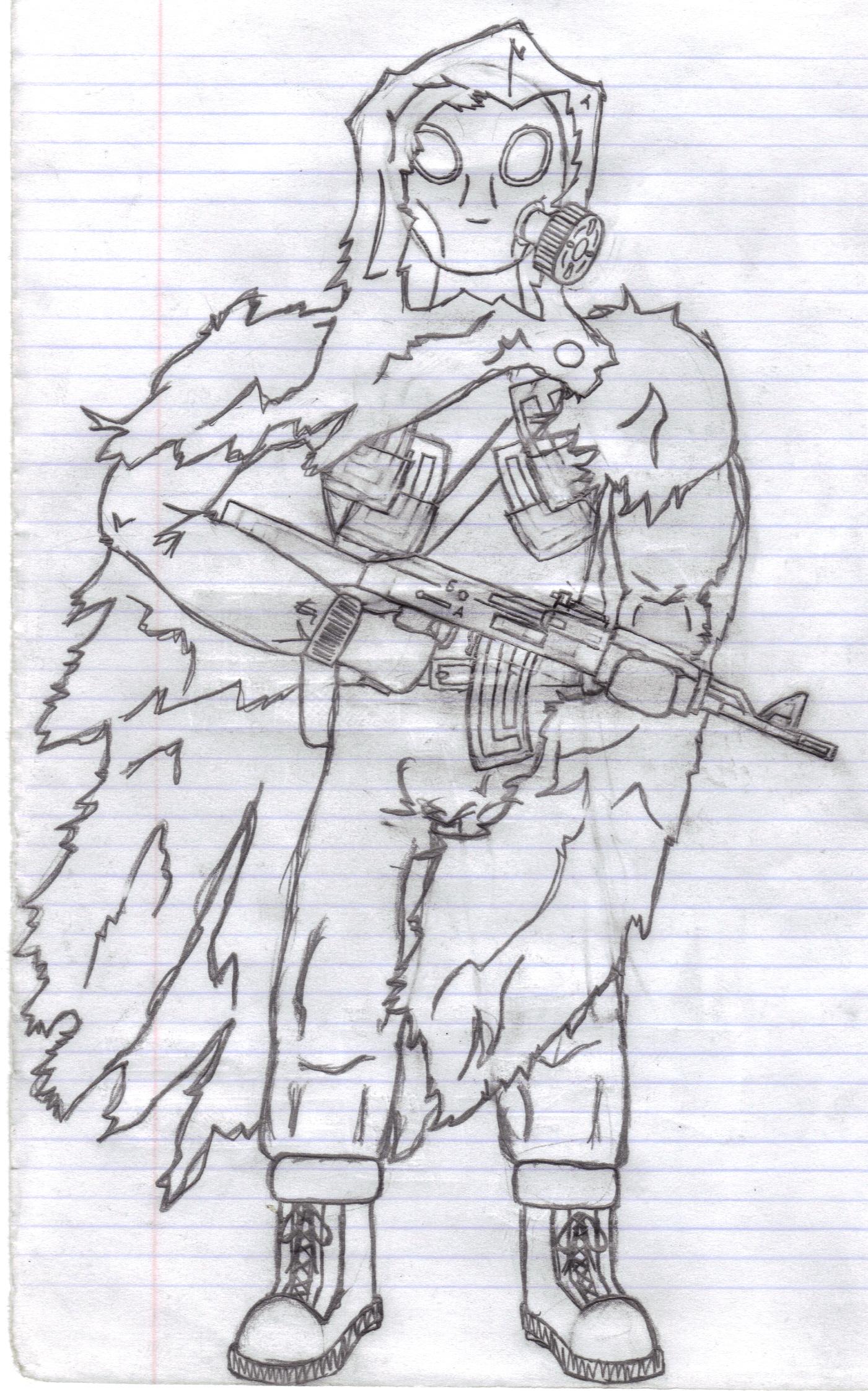 GasMask soldier
