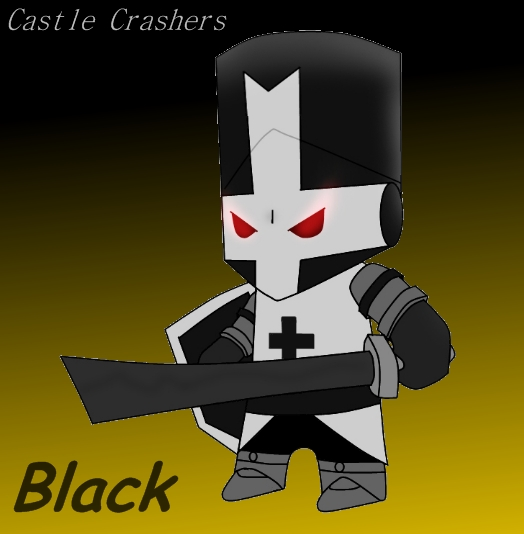 Castle Crashers Black 2