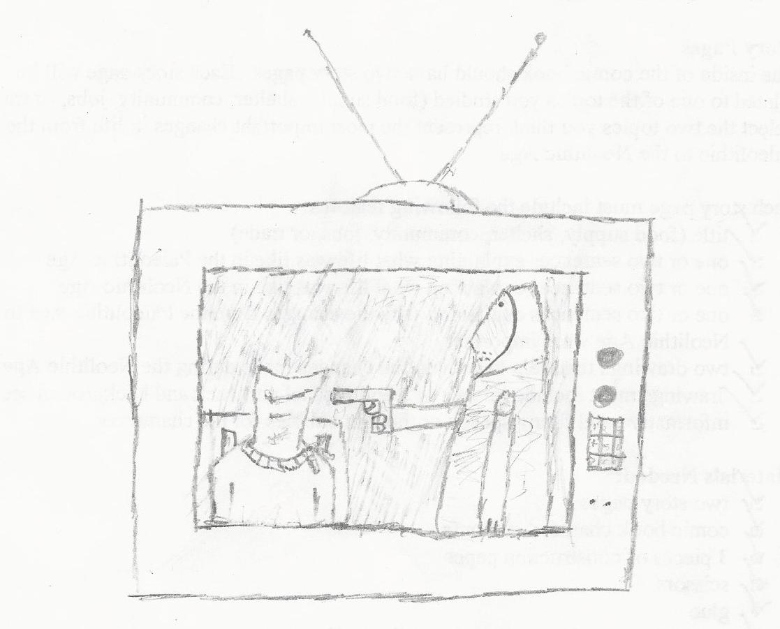The Hostage (sketch)
