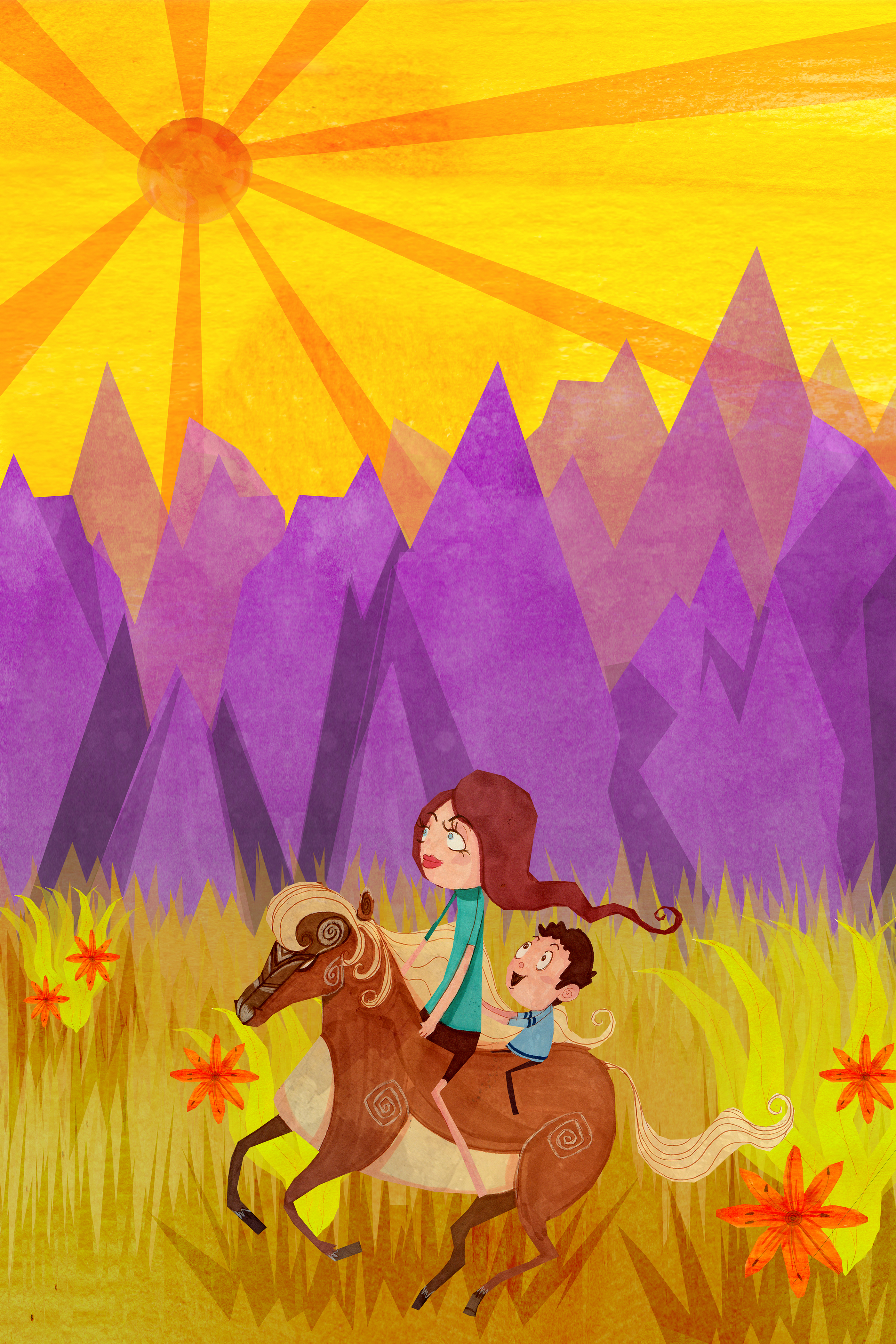 Purple Mountain Plains