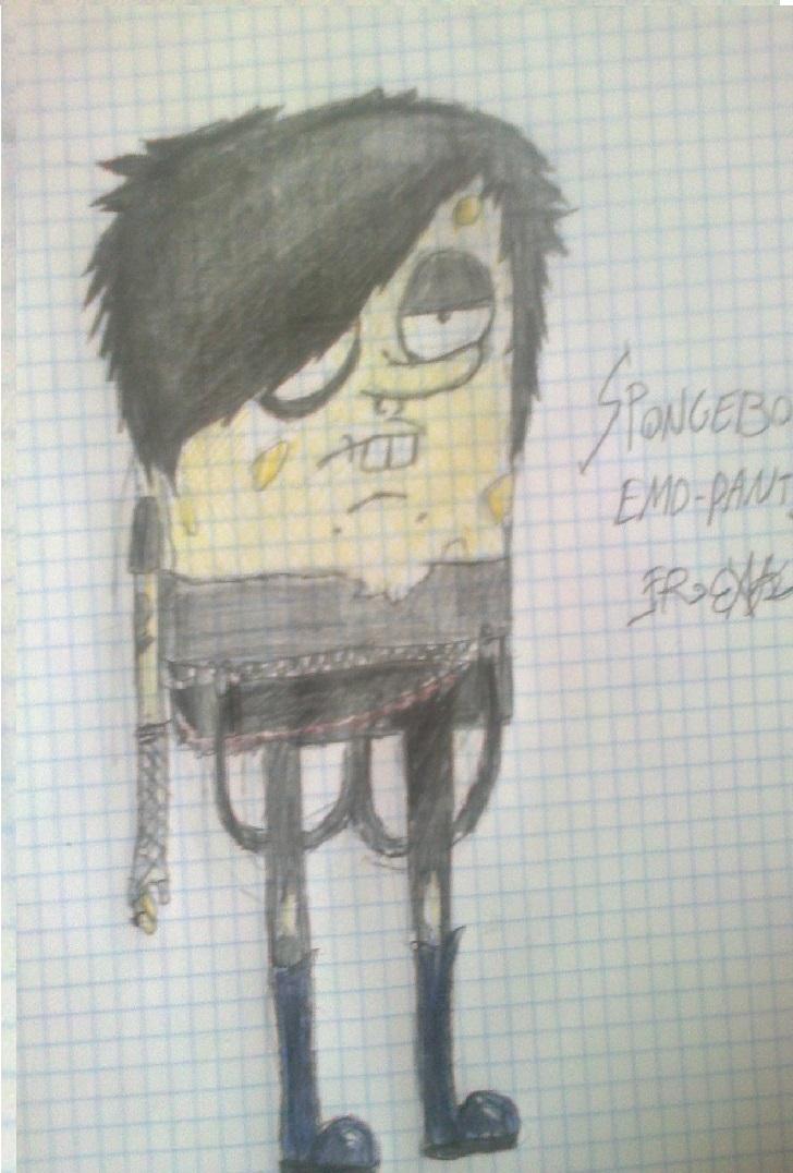 Spongebob Scene-Pants x3