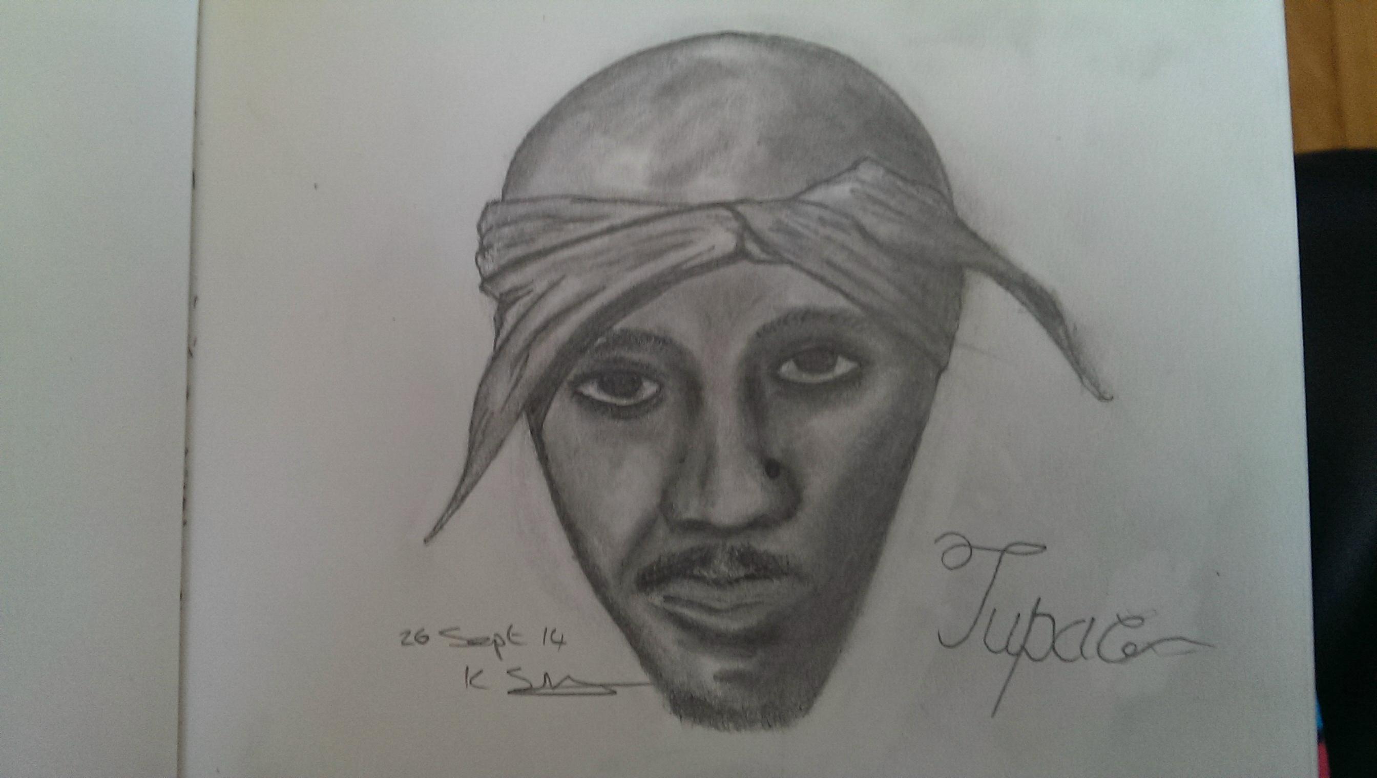 Tupac Portrait