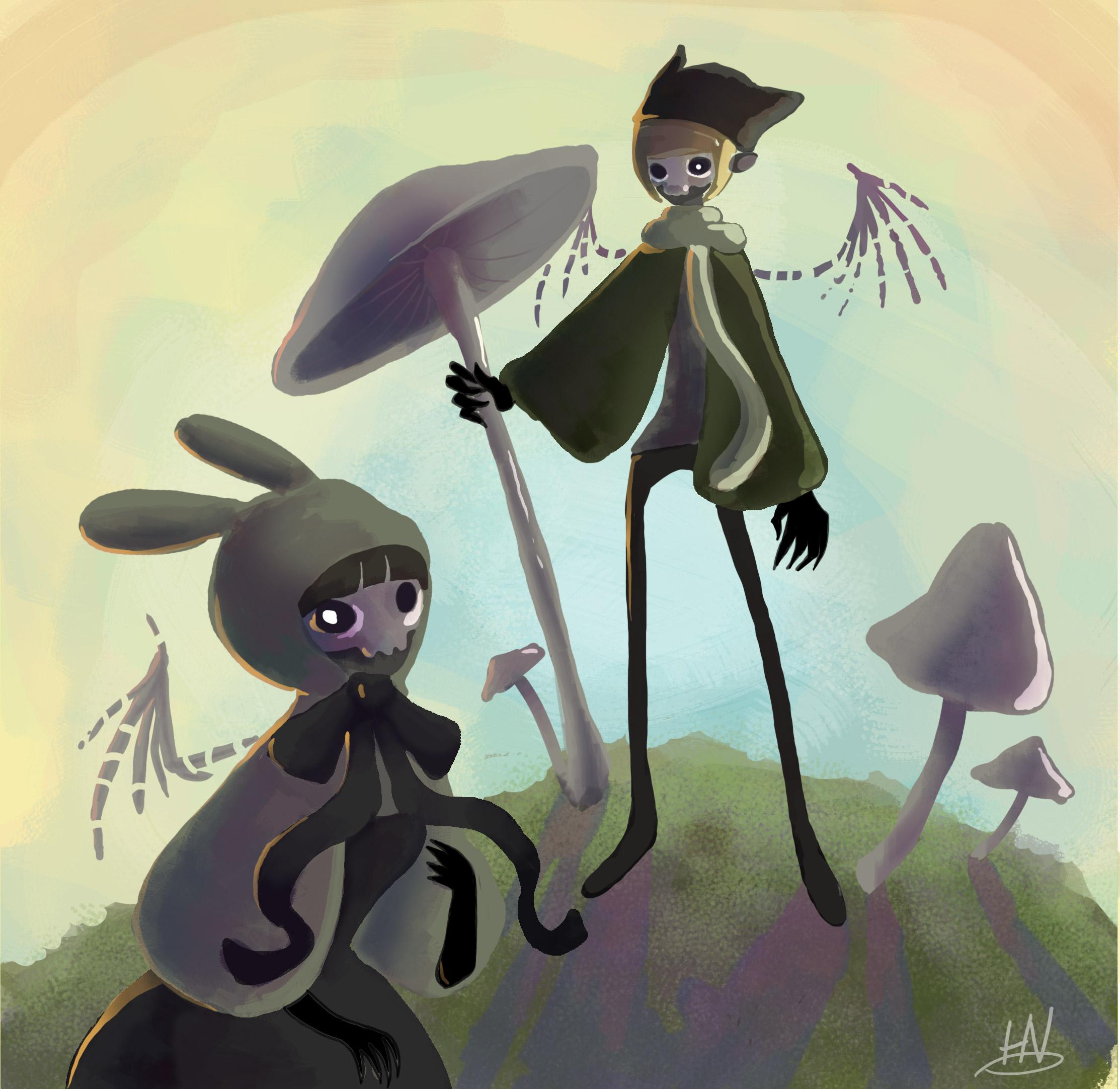 Crunchy Halloween Fairies