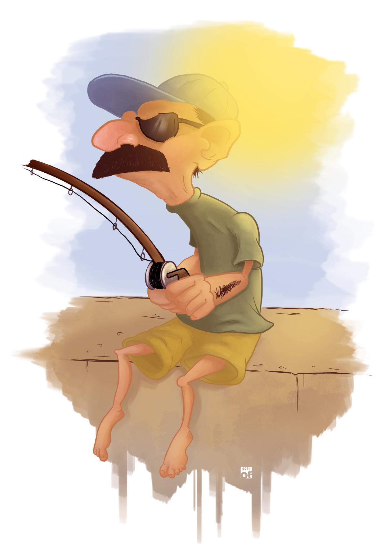 Grumpy Fisherman