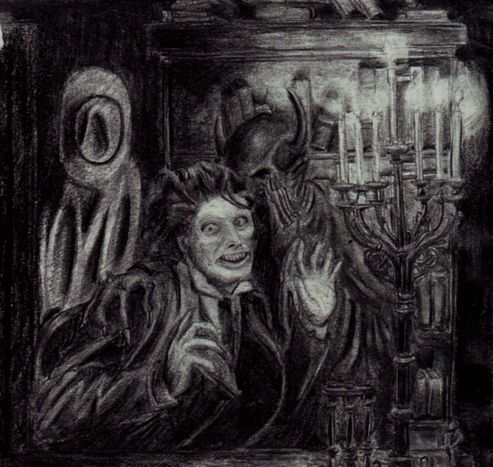 Faust or Crazed Man
