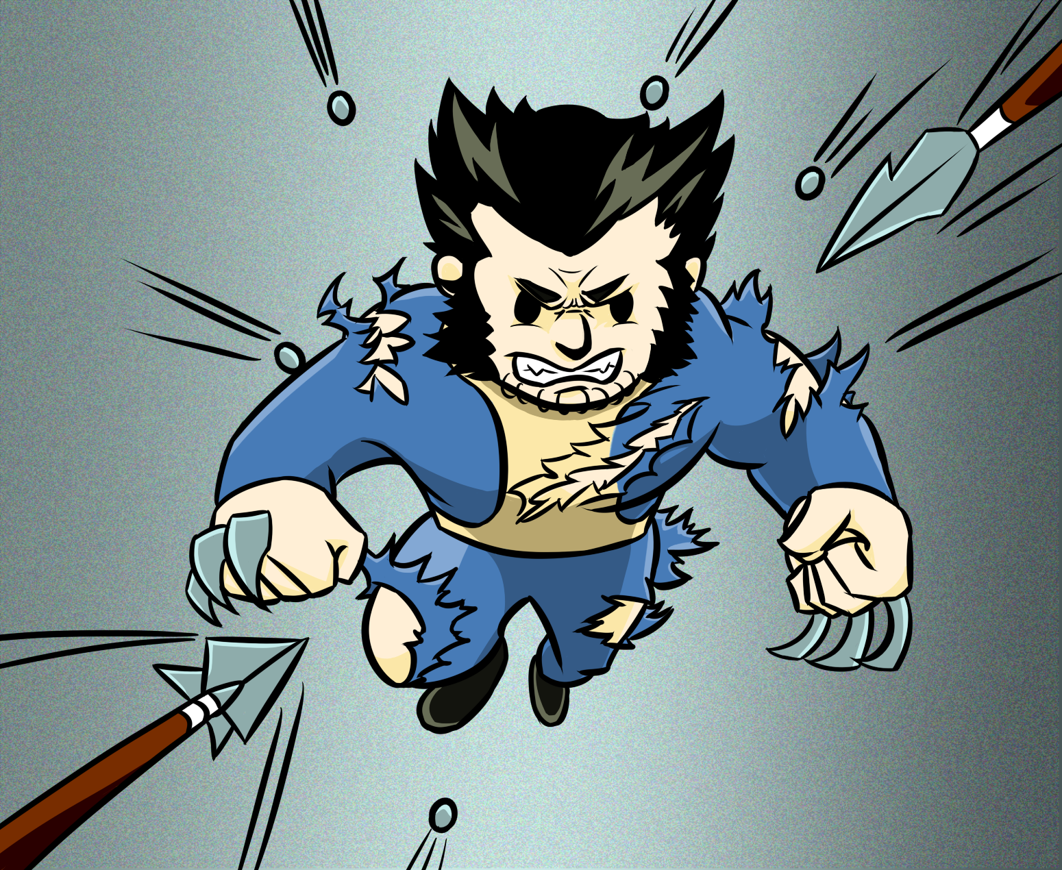 FalloutPerk Kamikaze-Wolverine