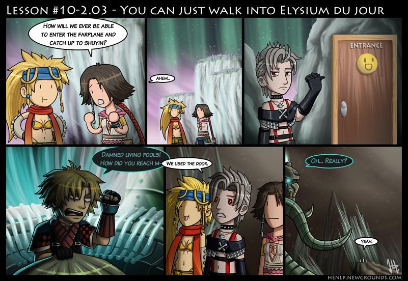 Final Fantasy Lesson #10-2.03