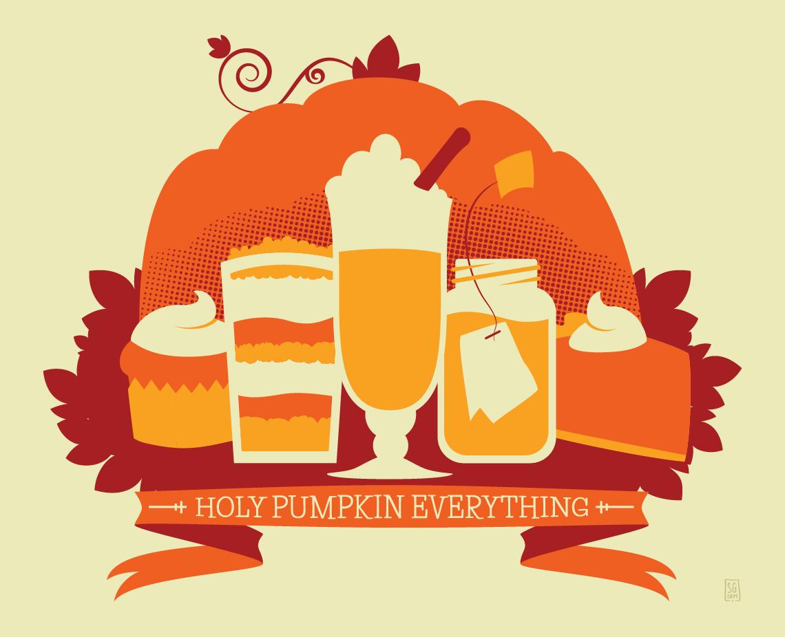 Holy Pumpkin Everything