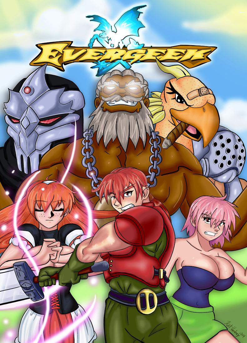 Evergeek poster art