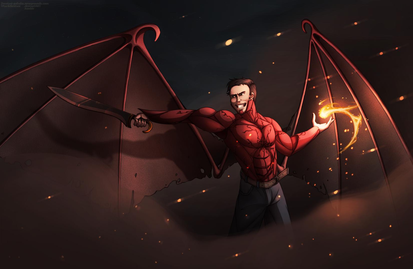 Someone's Red Bat Hero