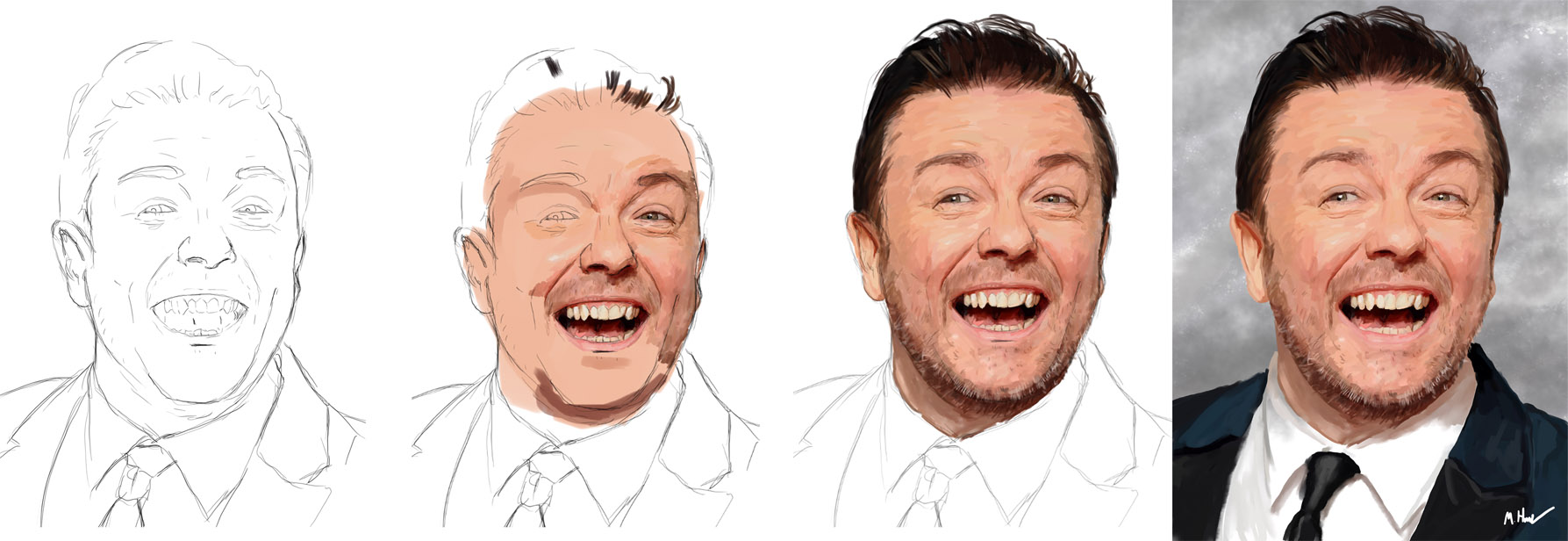 Ricky Gervais Progress