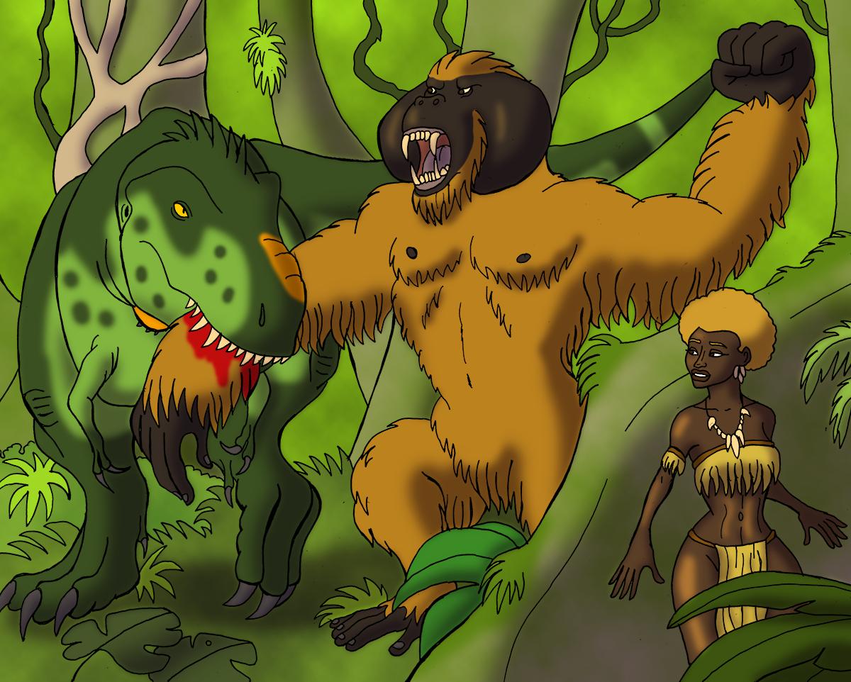 King Kong Battles