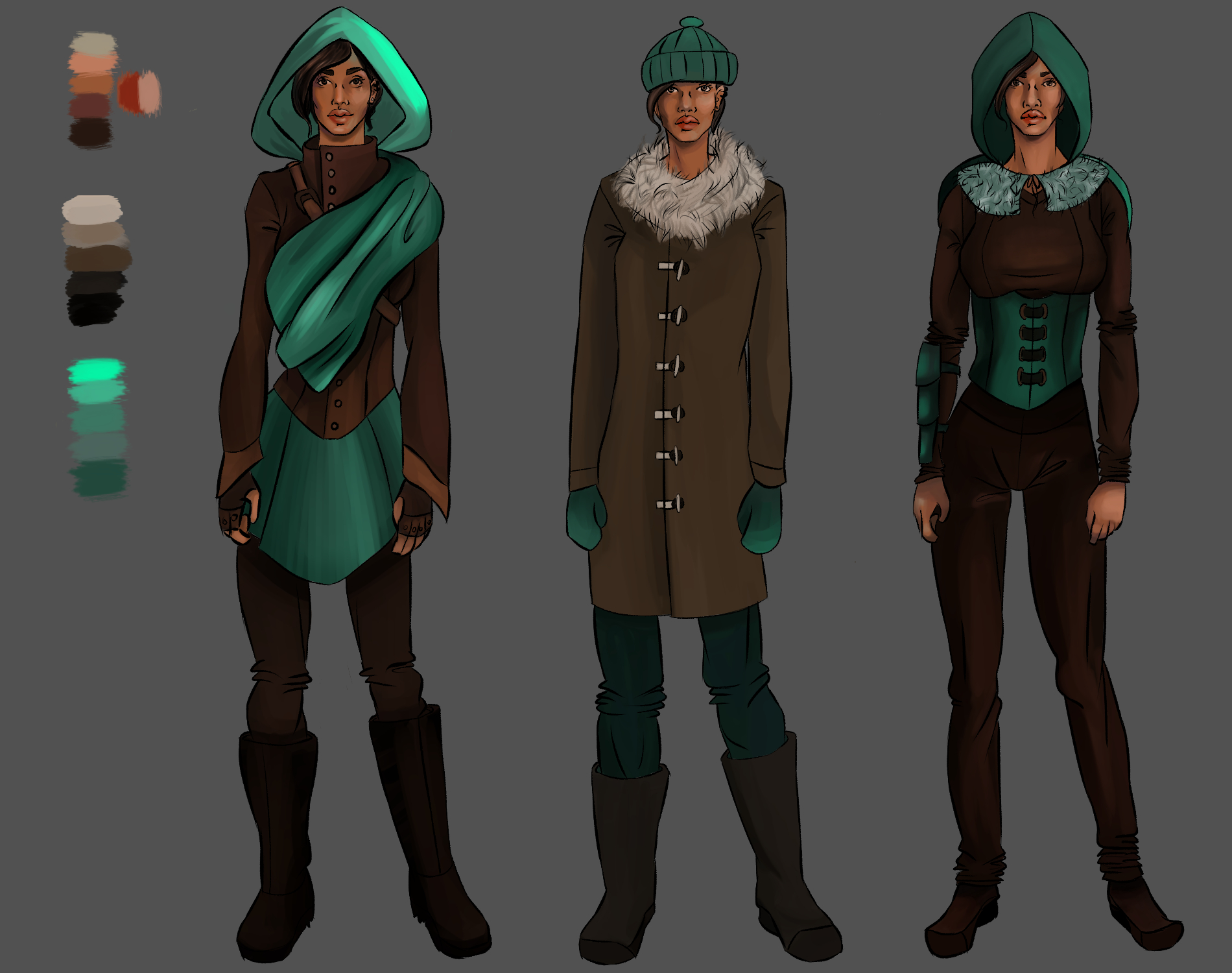 Annika Character Design #1