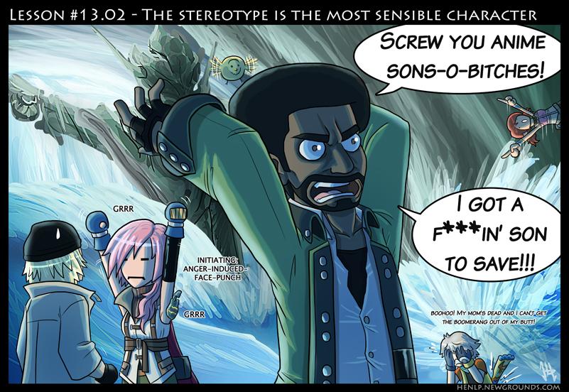 Final Fantasy Lesson #13.02