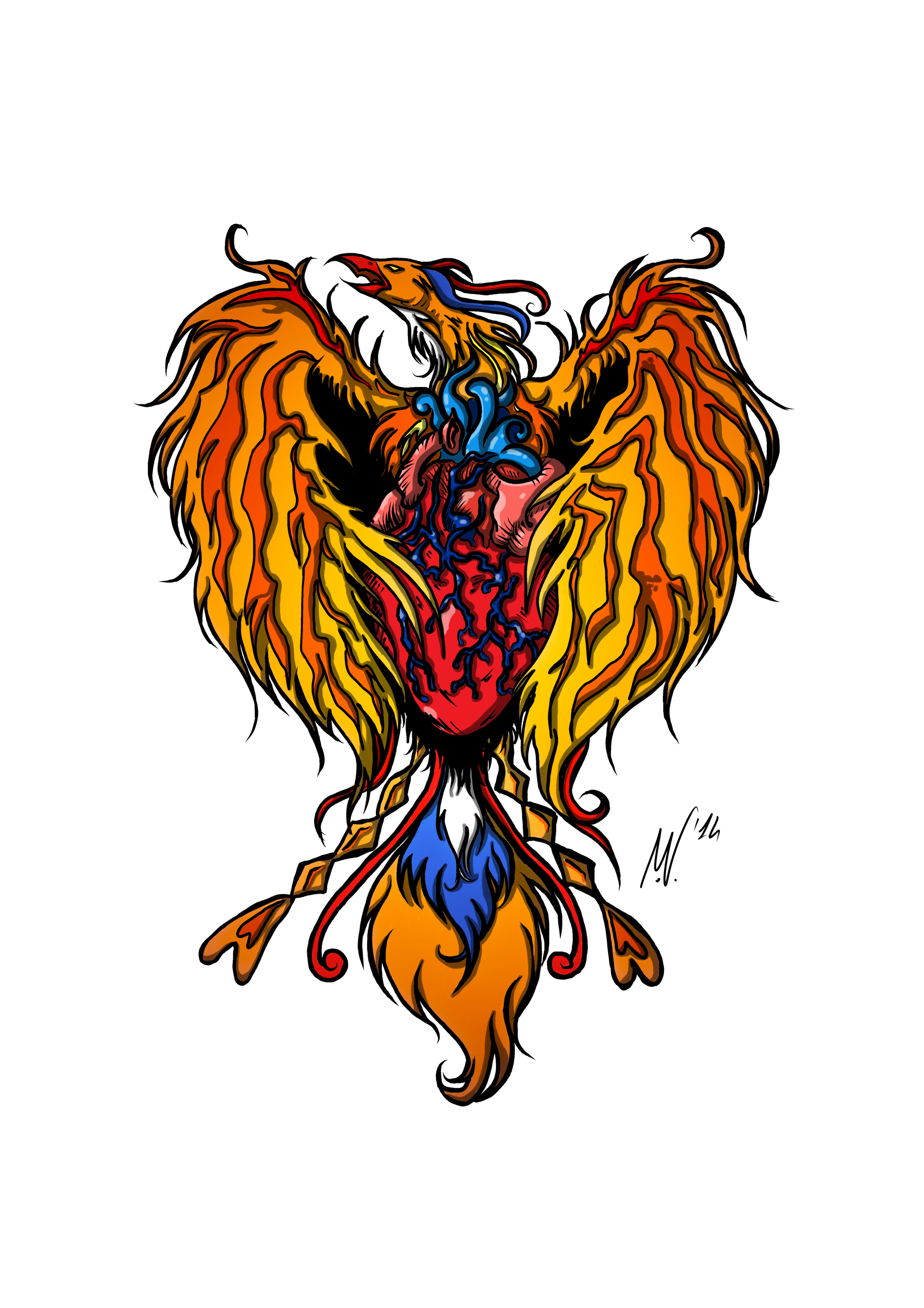 Tattoo Commission (Color)