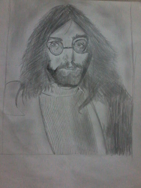 Jonh Lennon Drawing