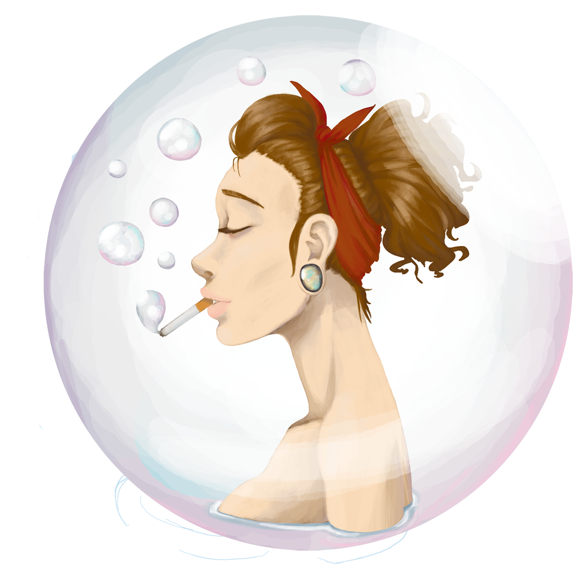 Bubble Smoke