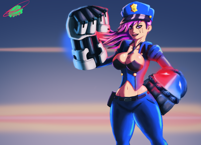 LoL - Officer Vi